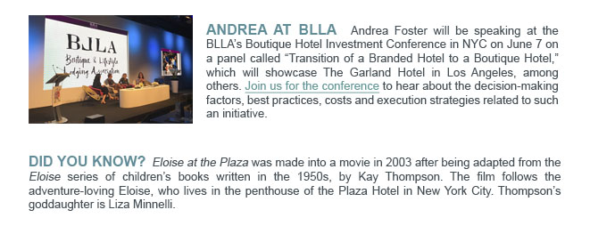 Andrea at BLLA