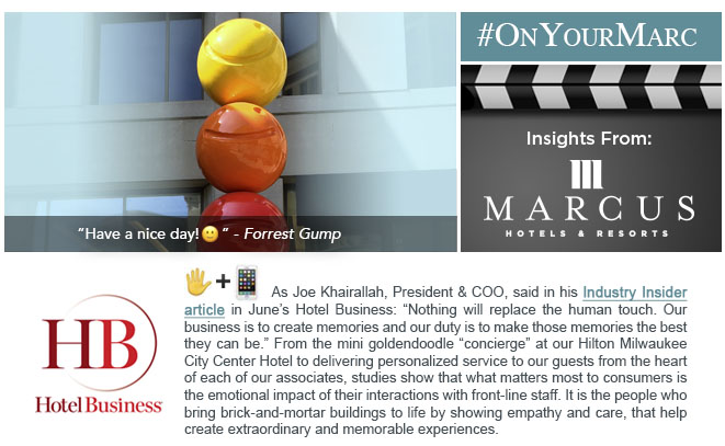 #OnYourMarc: Insights from Marcus Hotels & Resorts