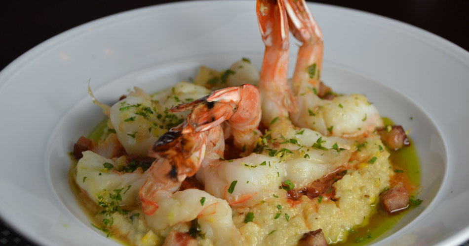 Wood Roasted Shrimp and Grits
