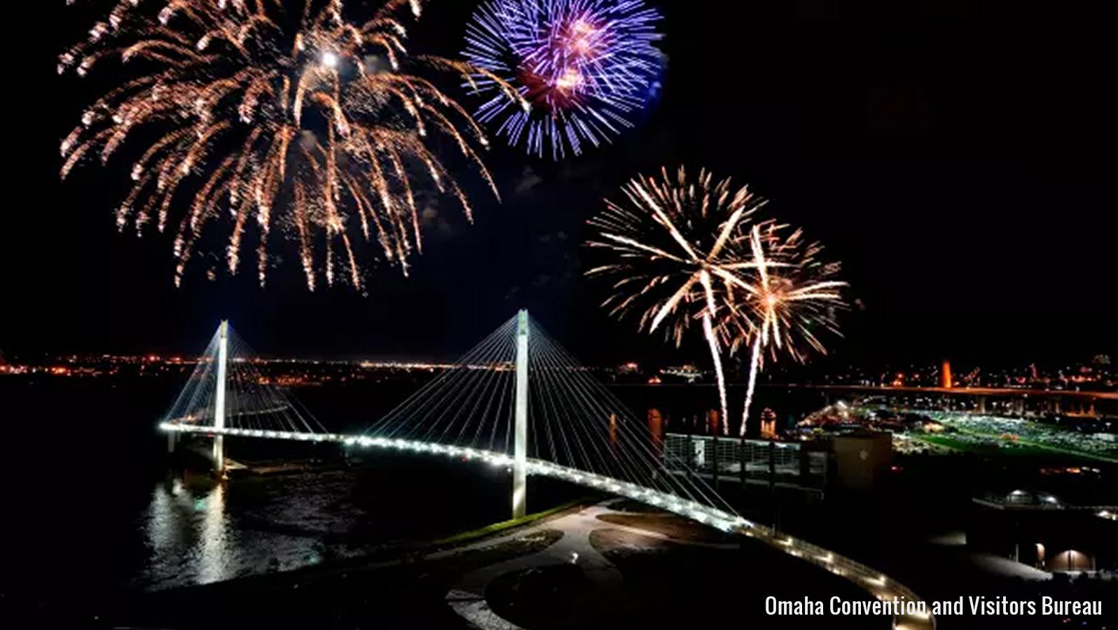 firework display in omaha