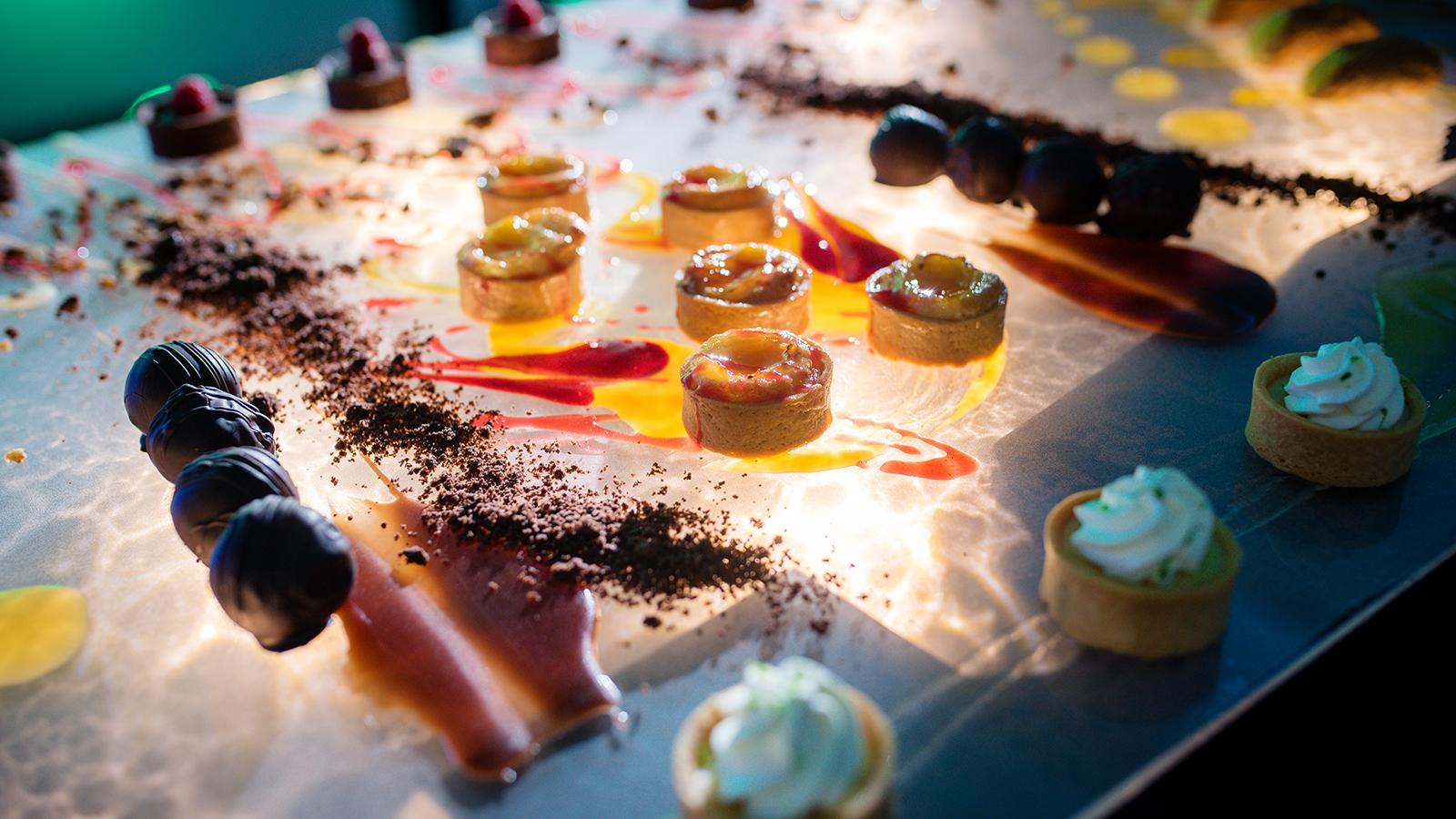 Dessert Display At Event