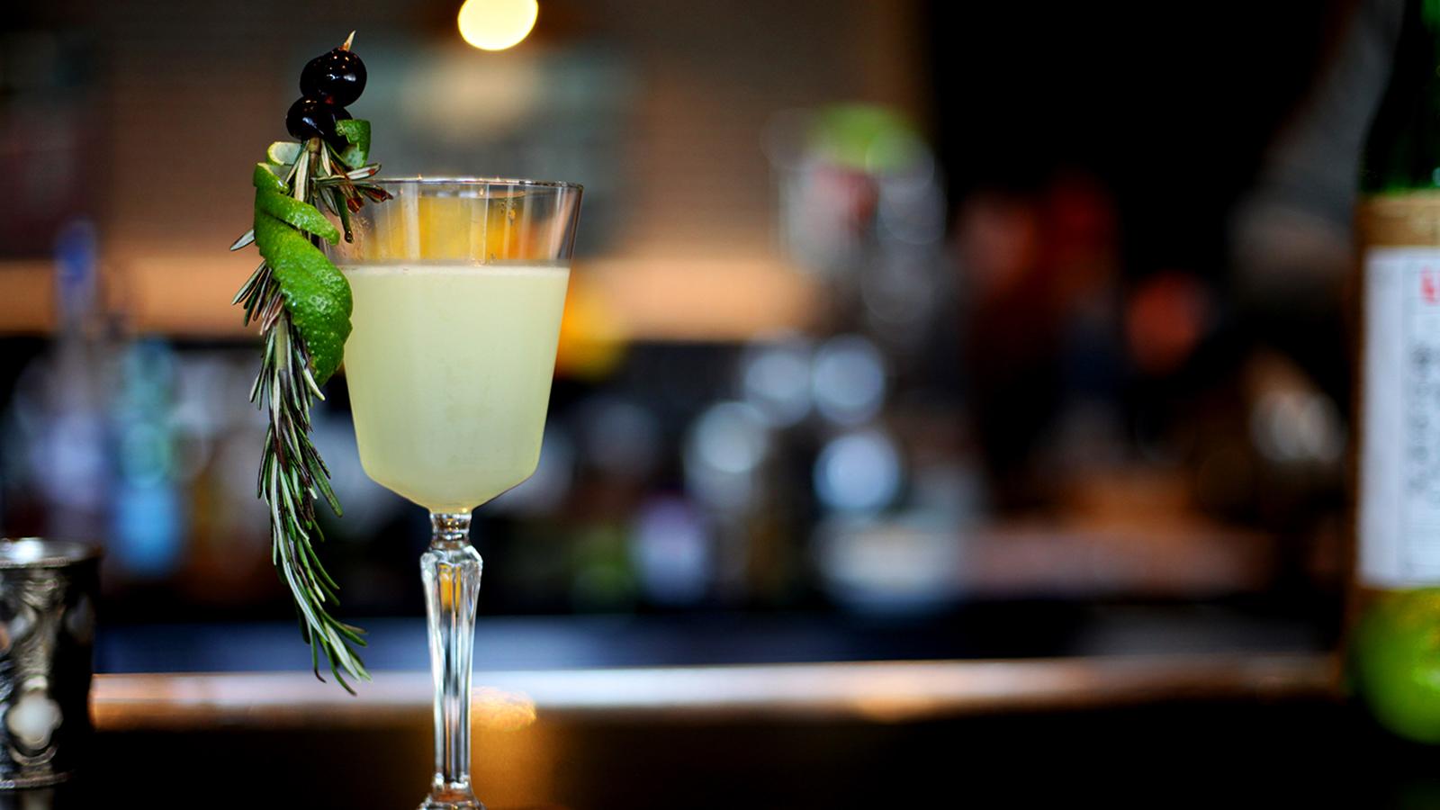 Cocktail At Burdock & Bitters