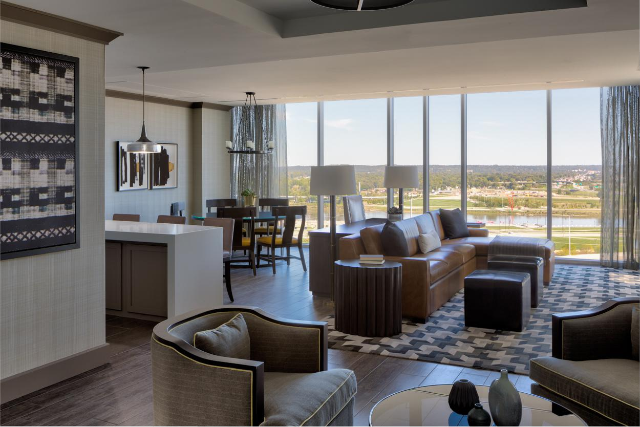 Omaha Marriott Presidential Suite