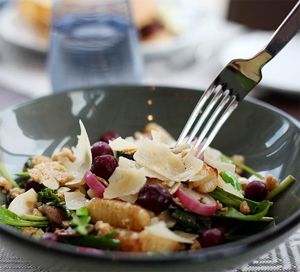 Salad of food