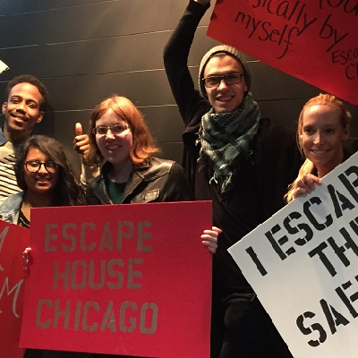 team building at escapehouse chicago