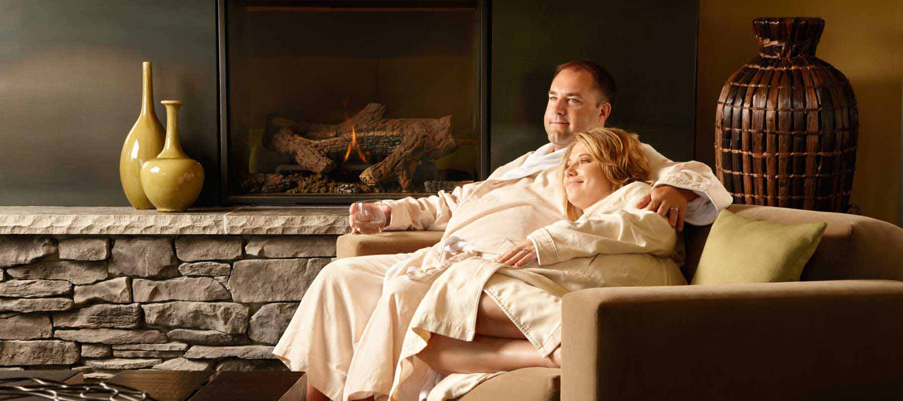 Couple in Relaxation Room