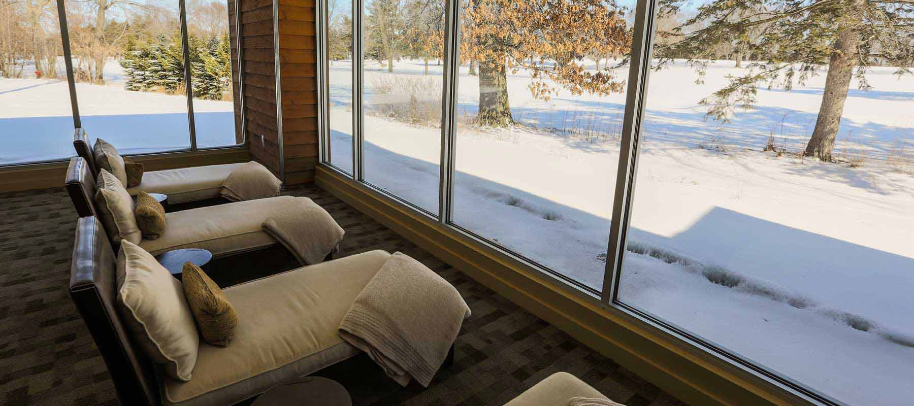 Winter Relaxation Room