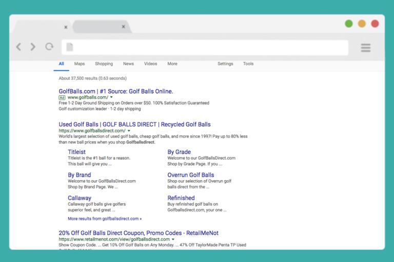 GBD Organic Search Results