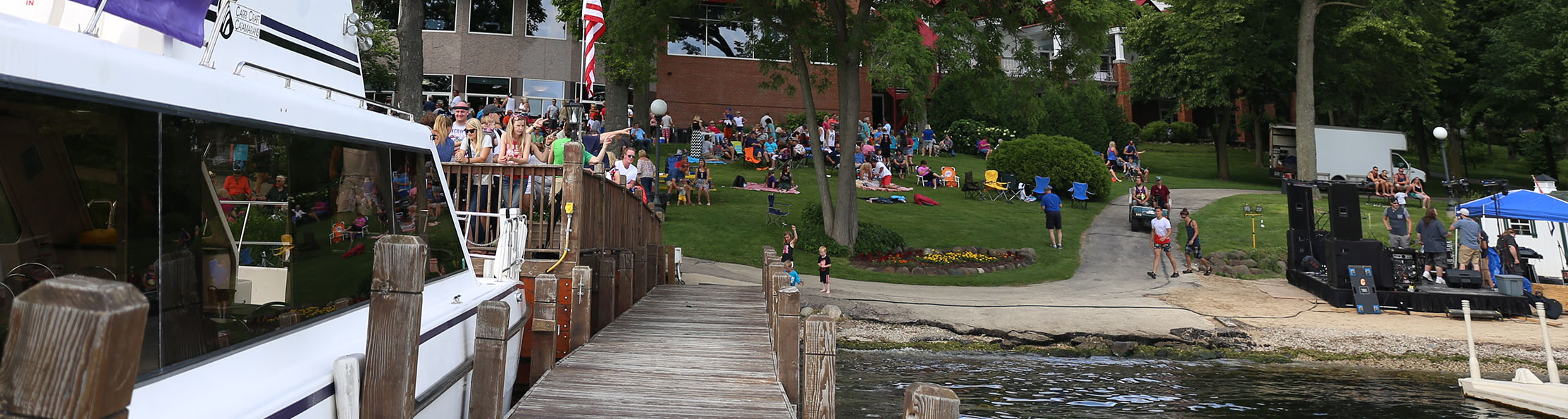 sunsplash, fourth of july party, summer activity, kid friendly, family fun, green lake wi, heidel house resort & spa