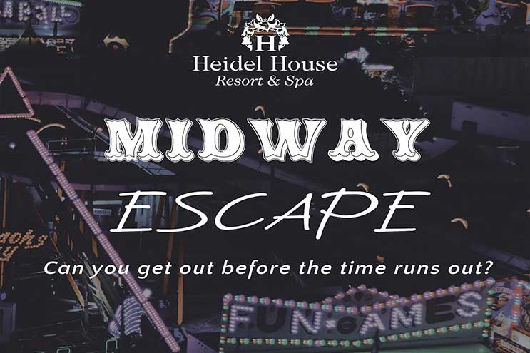 escape room, green lake wi, oshkosh wi, heidel house resort, team building, things to do, fun, family, group