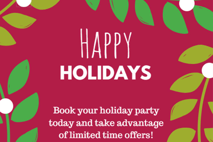 Holiday Parties at Heidel House Resort & Spa