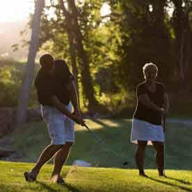 Golf, Heidel House Resort & Spa, Green Lake, WI