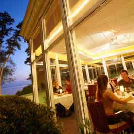 Group Dining, Heidel House Resort & Spa, Green Lake, WI