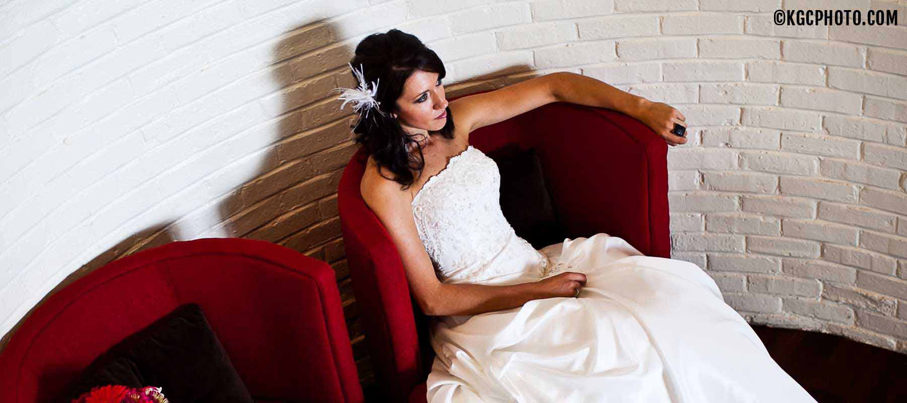 Grey Rock Staircase Bride