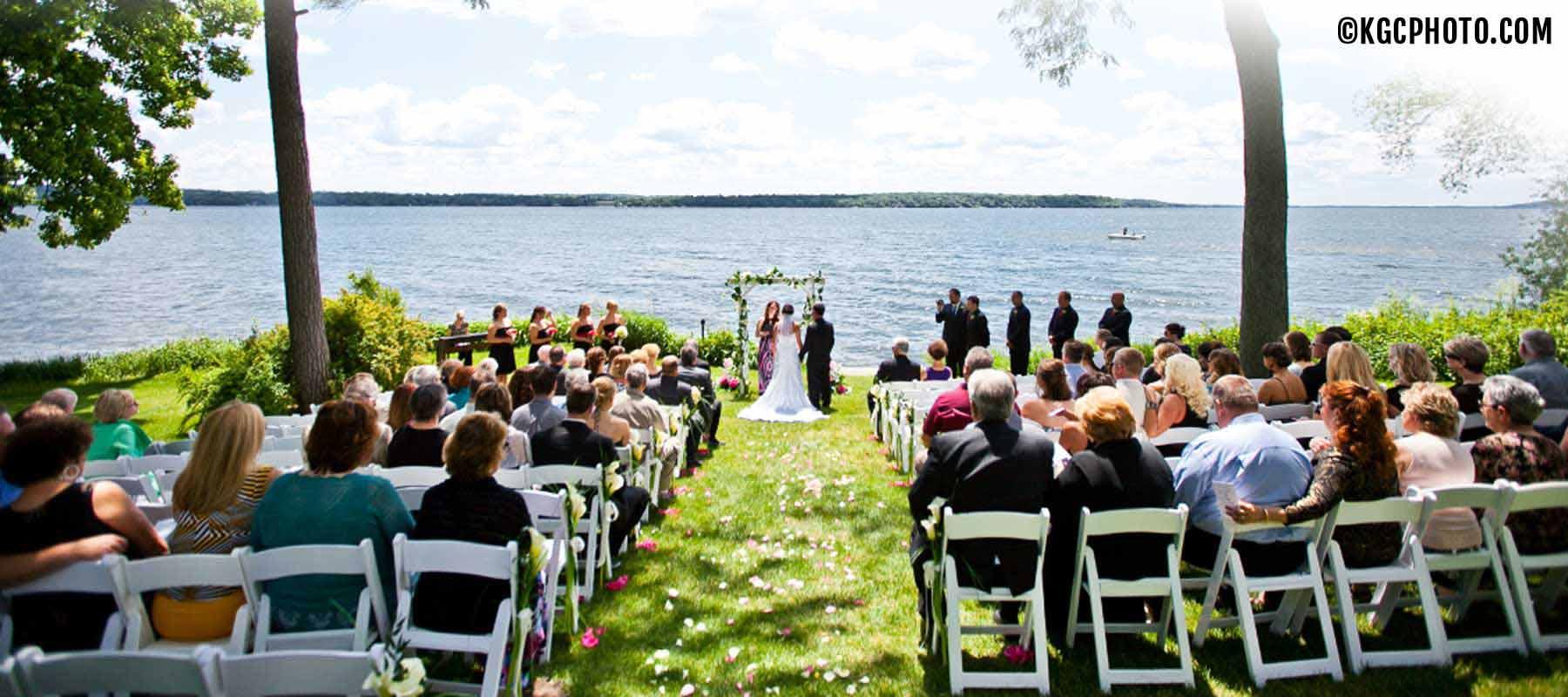 Grey Rock Lawn Ceremony