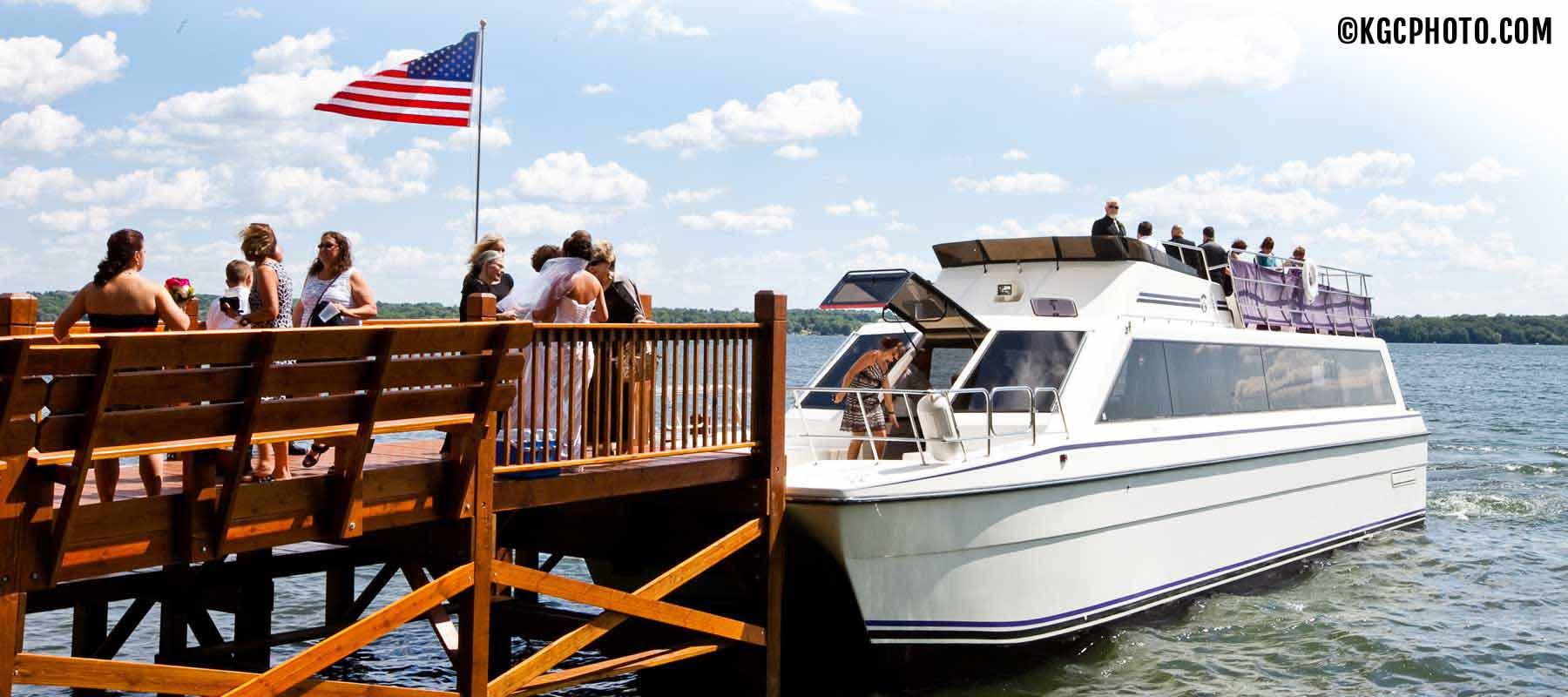 Escapade Yacht Wedding Cruise