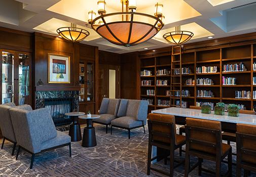 Hyatt Coralville Library