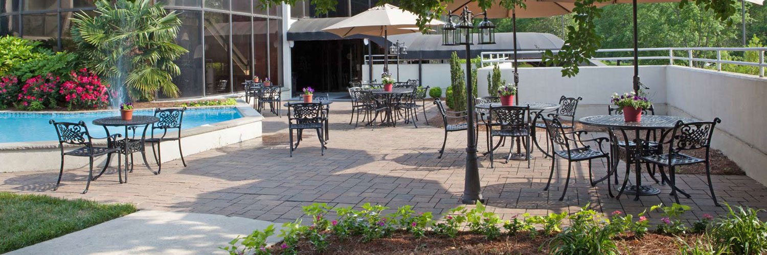 Outdoor Patio at Chapel Hill Hotel