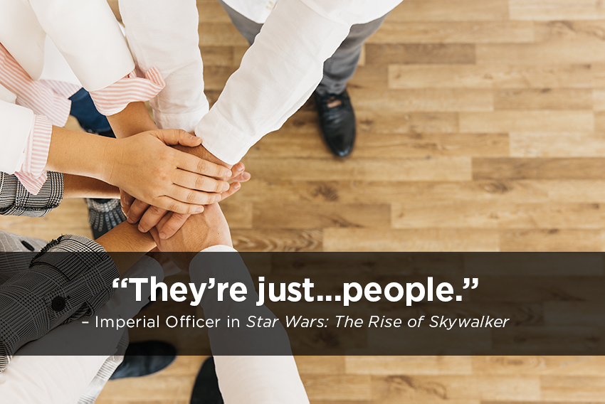 They're Just... People - Imperial Officer in Star Wars: The Rise of Skywalker
