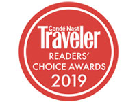 Conde Nast Traveler Readers' Choice Awards