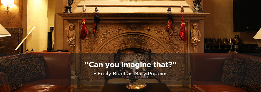 Can you imagine that?  Emily Blunt as Mary Poppins