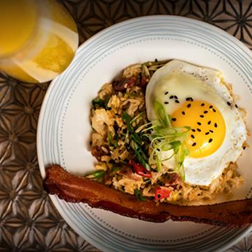 Breakfast at Aria at Saint Kate