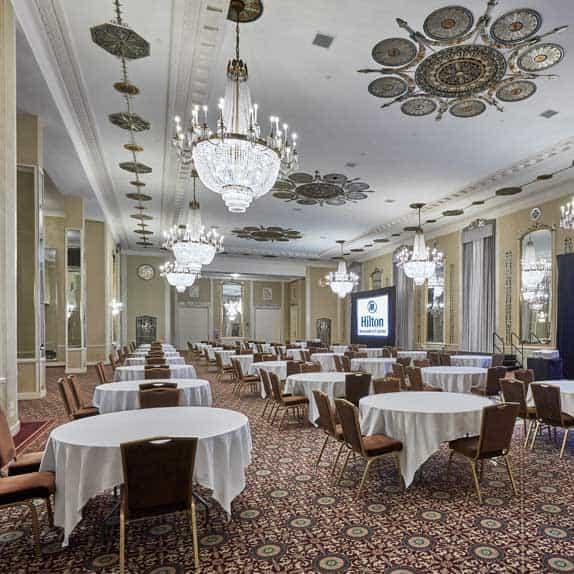 Crystal Ballroom Hilton Milwaukee City Center