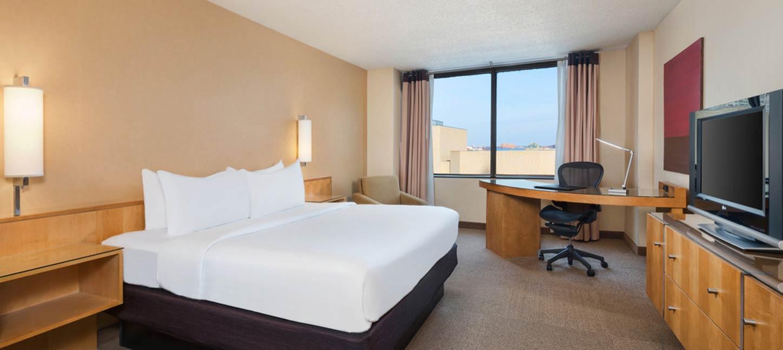 InterCon CTA guest room