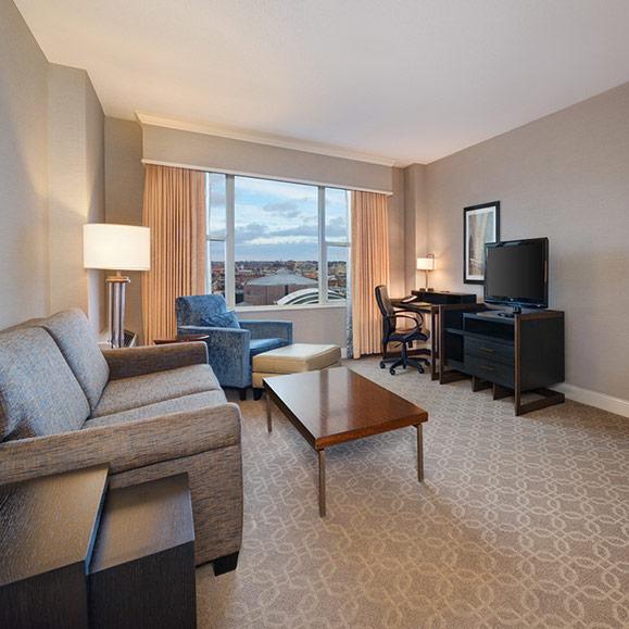 Hilton Executive King Suite