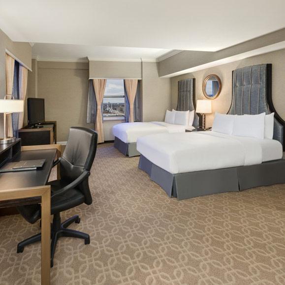 Hilton Guest Room - Double beds