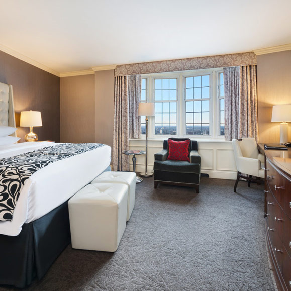 Pfister Tower room