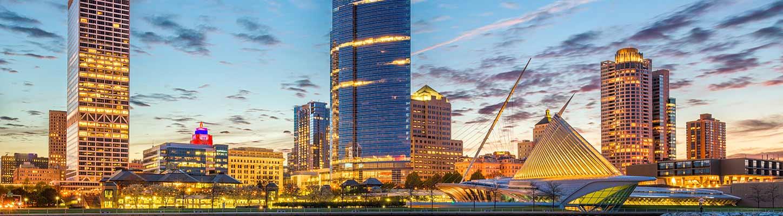 Downtown Milwaukee Skyline
