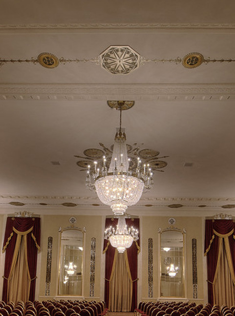 Crystal Ballroom at the Hilton