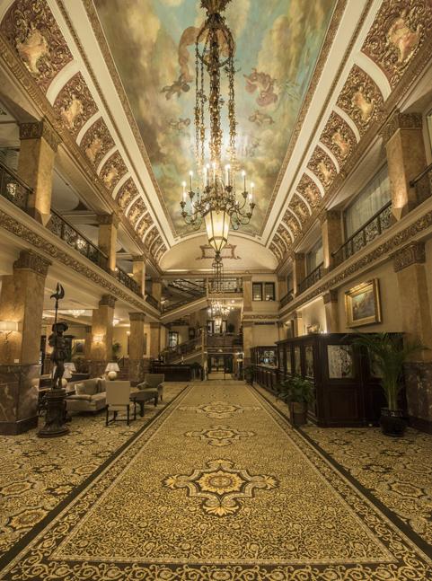 The Pfister Hotel Lobby