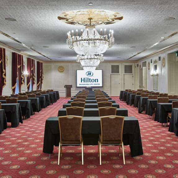 Regency Classroom at Hilton Milwaukee