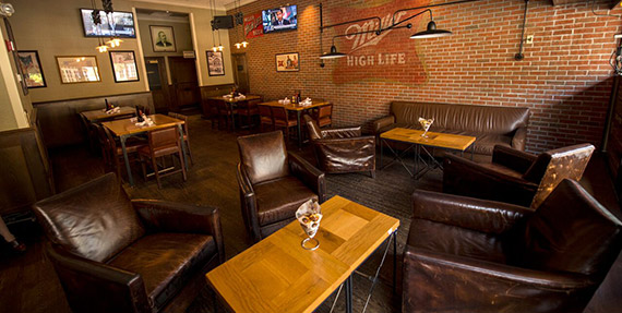 Miller Time Pub - Reception setting