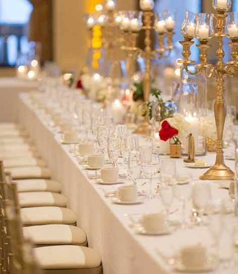 Pfister Wedding Reception - Table Setting