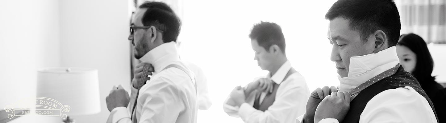 Groomsmen Getting Ready - Marcus Weddings