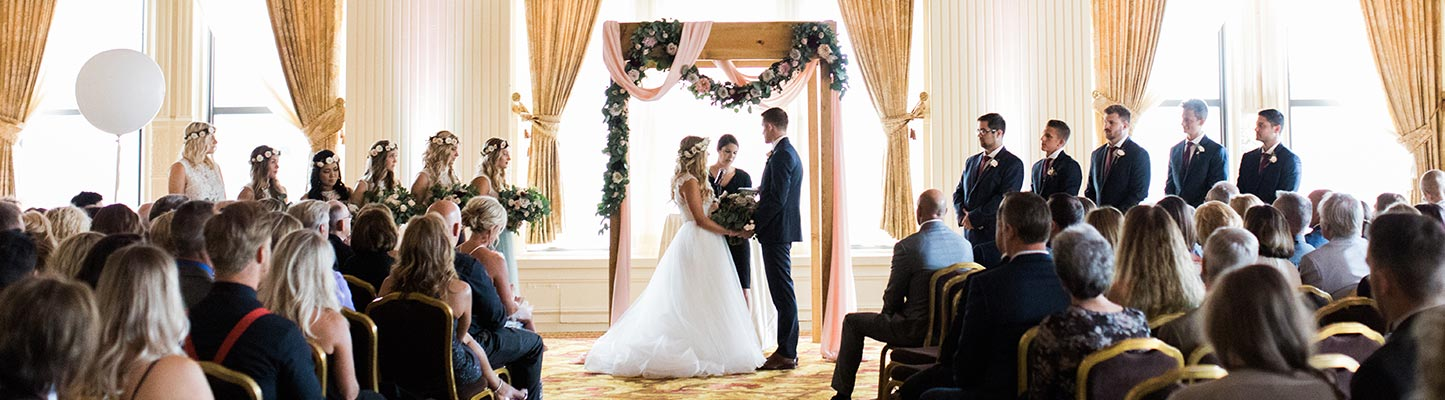 Wedding at the Pfister Hotel