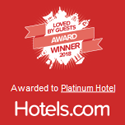 Hotels.com Loved by Guests 2018 award