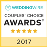 Wedding Wire - Couples' Choice Awards - 5 star - 2017