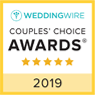 Wedding Wire - Couples' Choice Awards - 5 star - 2019