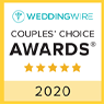 Wedding Wire - Couples' Choice Awards - 5 star - 2020