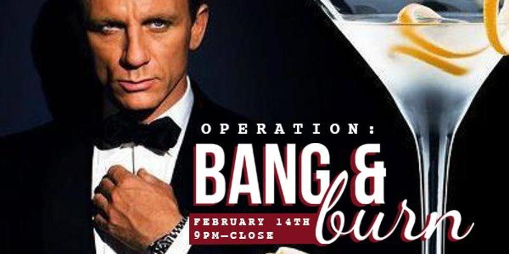 Bang & Burn Anti- Valentine's Day Party!