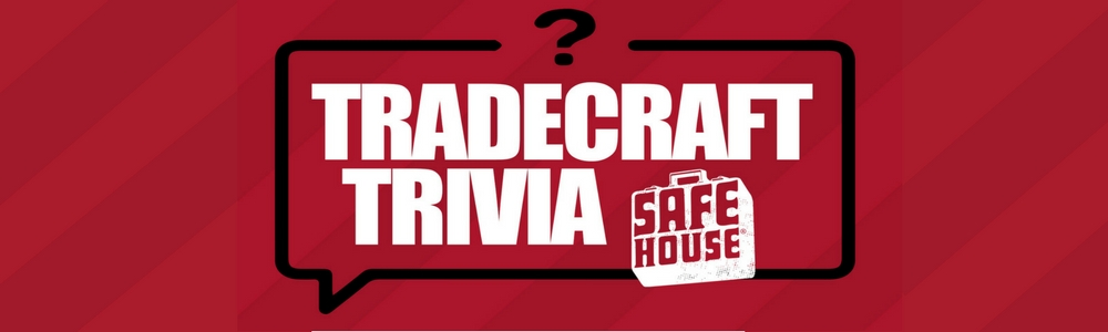 Thursday: Tradecraft Trivia