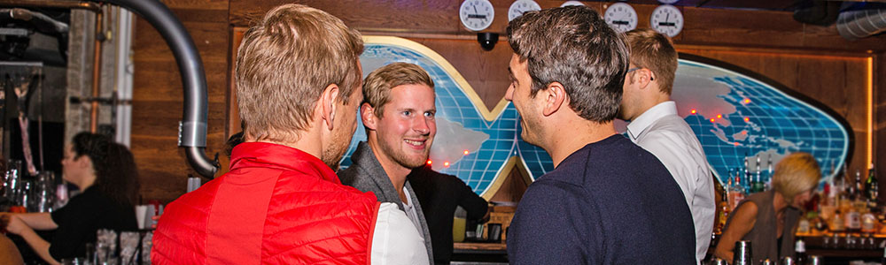 Men Talking At SafeHouse Chicago