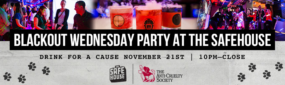 SafeHouse Chicago Drink for a Cause