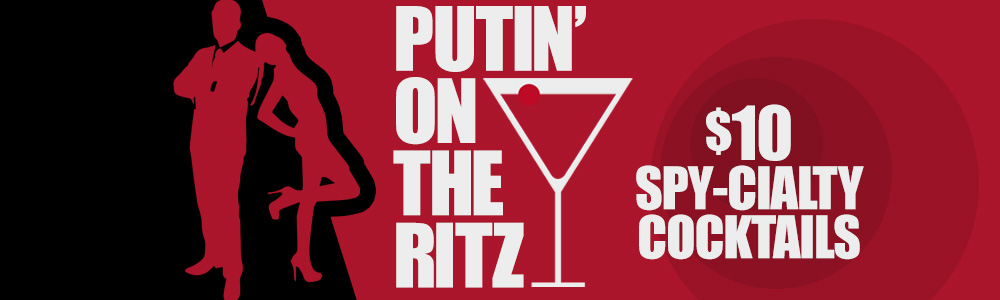 Thursday: Putin' on the Ritz