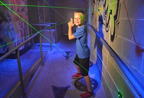 Laser exit