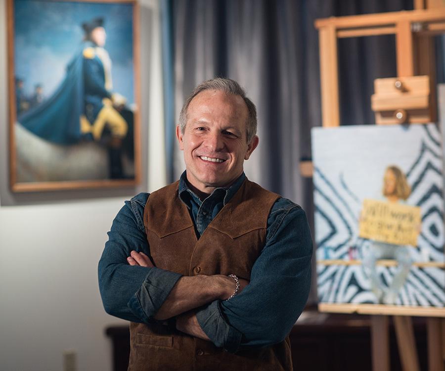 Mike Wimmer - Former Artist in Residence
